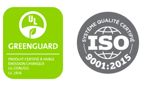 Certifications Mobilier Corporatif Poitras
